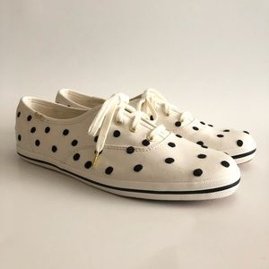 Keds for Kate Spade Polka Dot Shoes Size 8.5